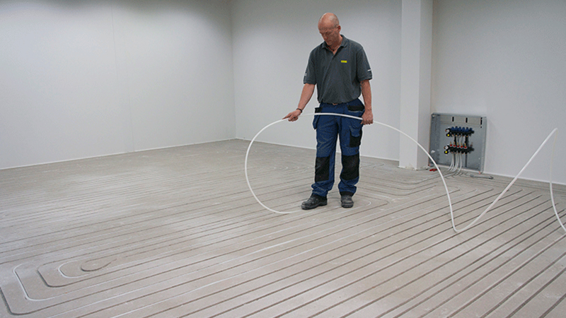 Fußbodenheizung Fräsen awk alternative wärmekonzepte